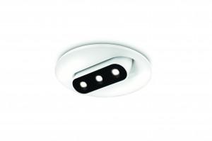 PHILIPS  Smartspot LED-Einbauspot Aluminium Weiß